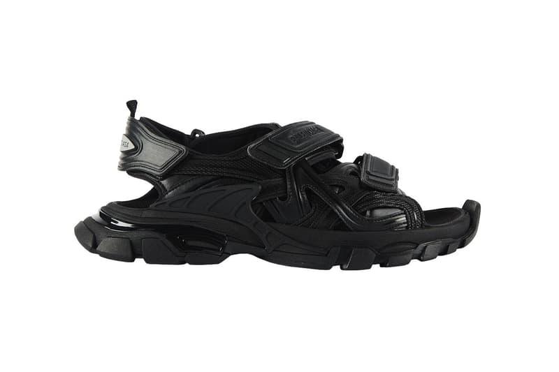 Balenciaga 推出 2020 春夏 Track Sandal 全新涼拖鞋款