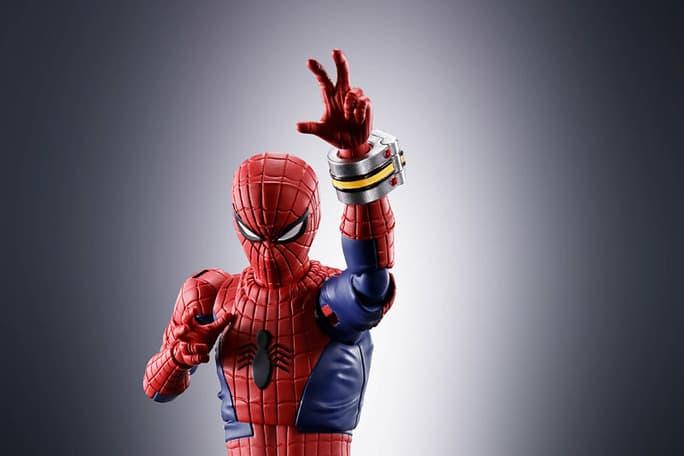 Bandai Spirits 推出 S.H.Figuarts 系列「東映蜘蛛人」可動人偶