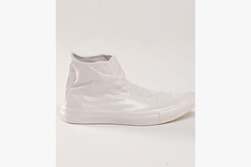 鞋の花藝-Converse Tokyo x Ceramic Japan x .blink 推出全白色 All Star 花瓶