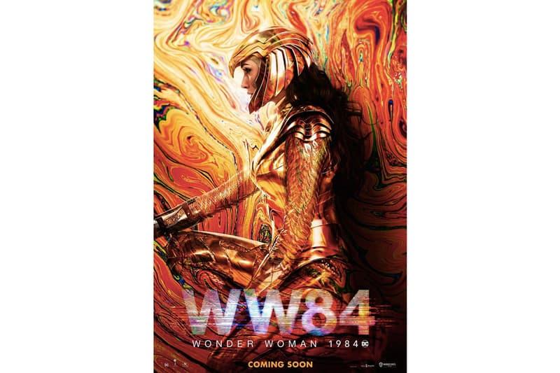DC 年度英雄電影《Wonder Woman 1984》全新電影海報正式登場