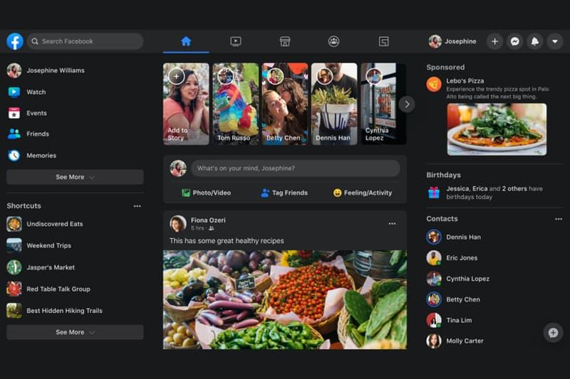 期盼已久 - Facebook 「Dark Mode」深色模式正式上線