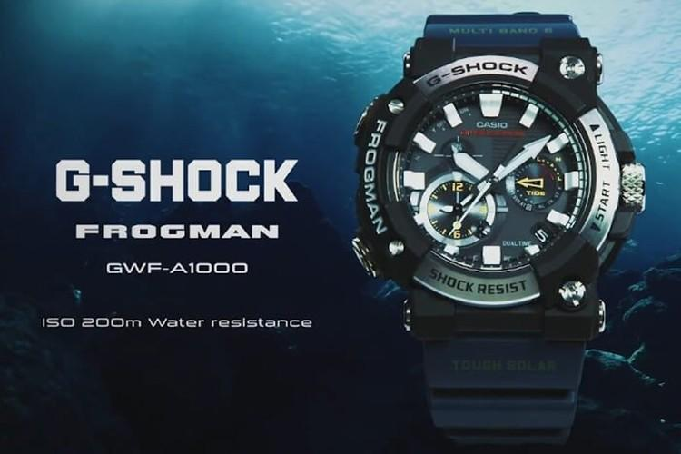 G-SHOCK 推出全新 Frogman 系列腕錶