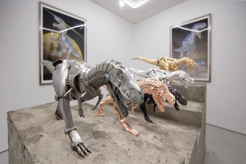 走進「械慾大師」空山基《Sex Matter》與《T-Rex》之別注藝術展覽