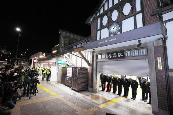 日本 JR 原宿駅木製車站大樓正式關閉待修