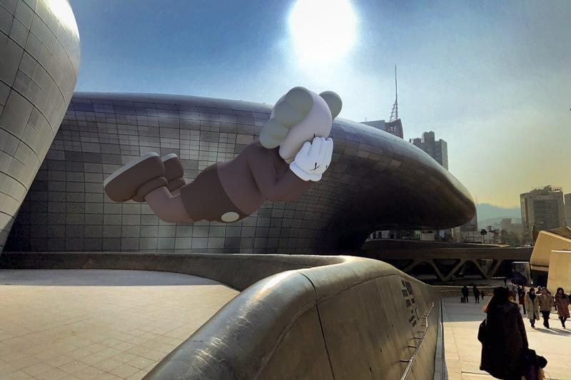 延長假期-KAWS 推出跨地域展覽《Expanded Holiday》AR 擴增實境雕塑