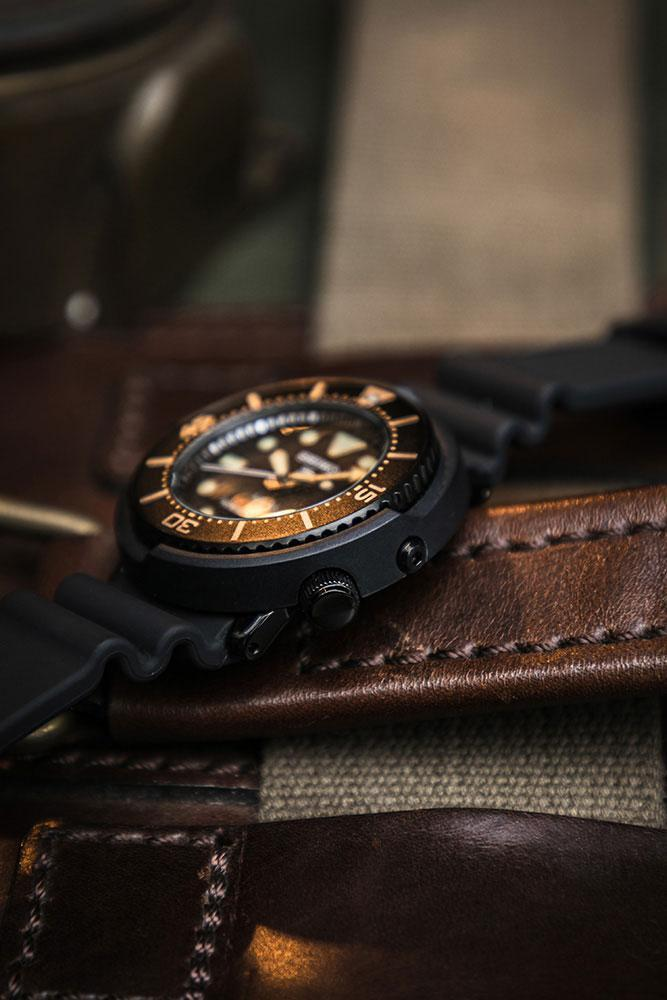 Seiko x Freemans Sporting Club 聯名 Prospex Diver「太陽吞」 最終回