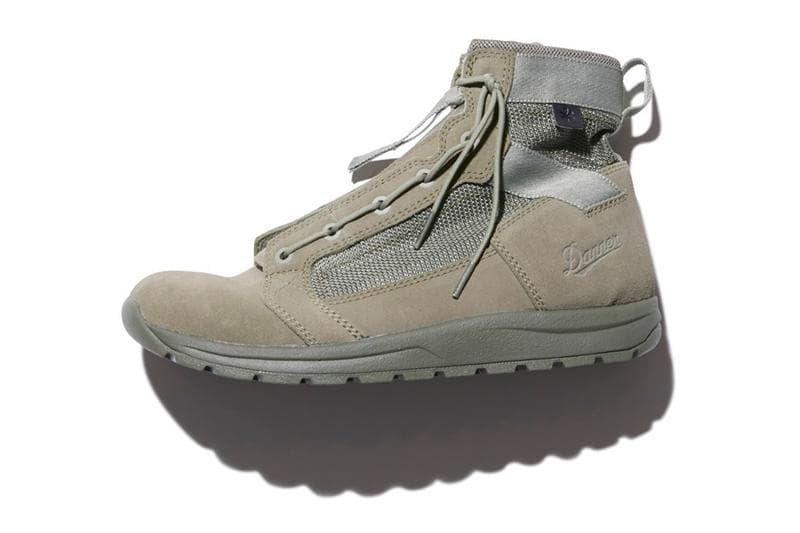 Snow Peak 再度攜手 Danner 推出軍事風別注靴款