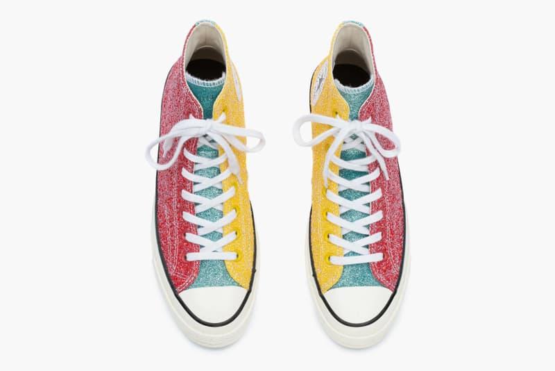 JW ANDERSON x Converse 全新聯名「Glitter Chuck Taylor」系列即將發售