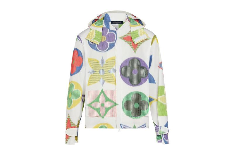 Louis Vuitton 全新亮色大型 Logo Monogram 風衣外套正式發佈