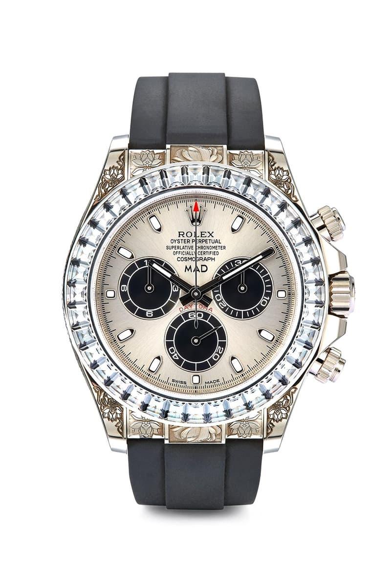 MAD Paris 打造要價 $111,000 美元 Rolex Daytona 定製腕錶