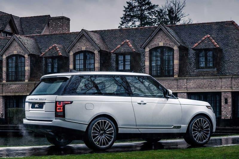 Niels van Roij 打造雙門版本 Range Rover Coupe 改裝車型