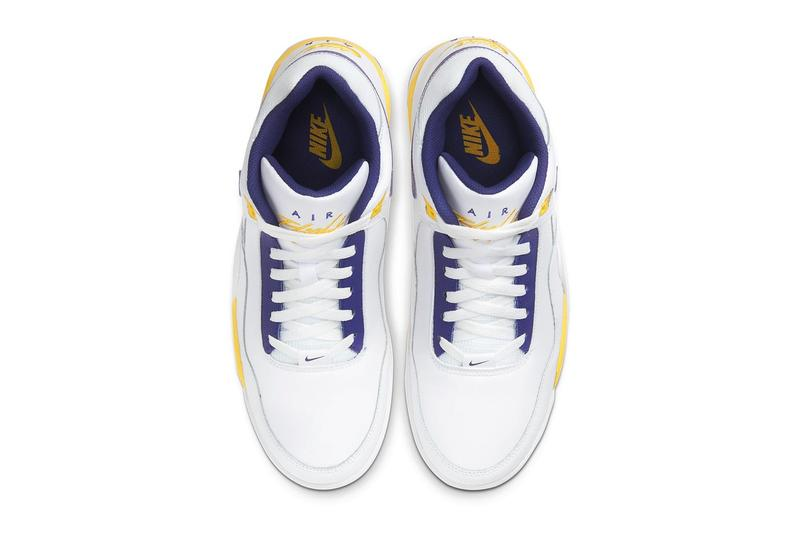 Nike Air Flight Legacy 全新配色「Purple & Gold」即刻正式發售