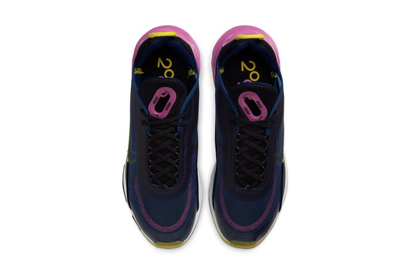 Nike Air Max 2090 迎來全新 Blue Void & Active Fuchsia 配色