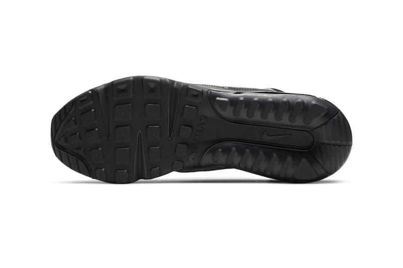 Nike Air Max 2090 迎來全黑「Triple Black」配色鞋款