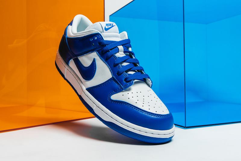 HYPEBEAST 近賞 Nike Dunk Low SP「Kentucky」及「Syracuse」配色
