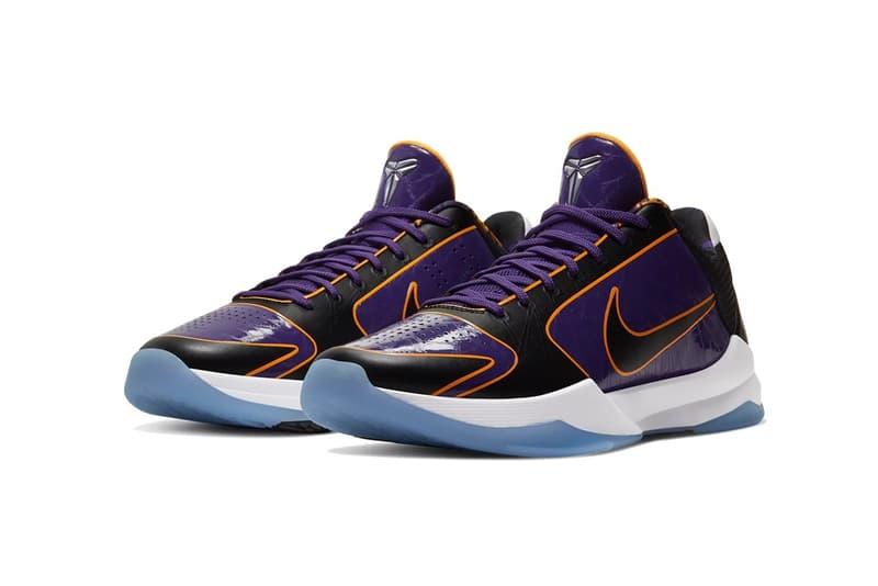 Nike Kobe 5 Protro 最新配色「Lakers」上架情報