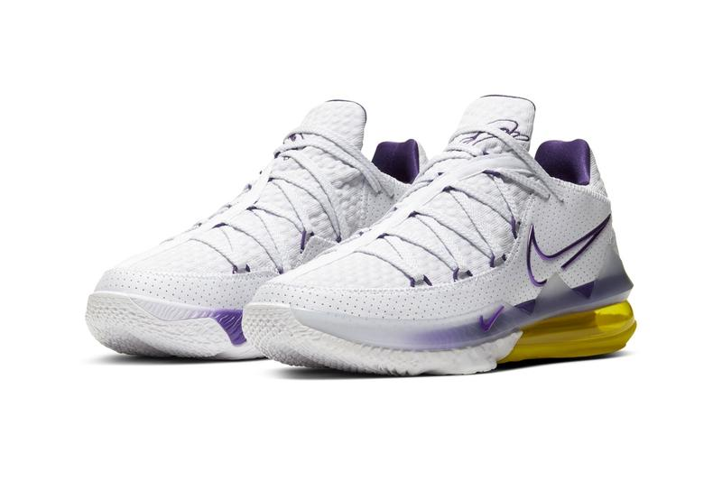 紫金王朝 - Nike LeBron 17 Low 全新配色「Lakers Home」正式發佈