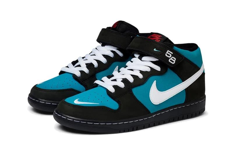 Nike SB Dunk Mid Pro 全新配色「Freshwater」即將正式發佈