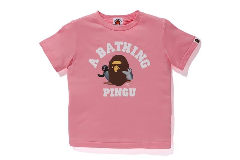 A BATHING APE® 攜手經典卡通《Pingu 企鵝家族》推出全新聯乘系列