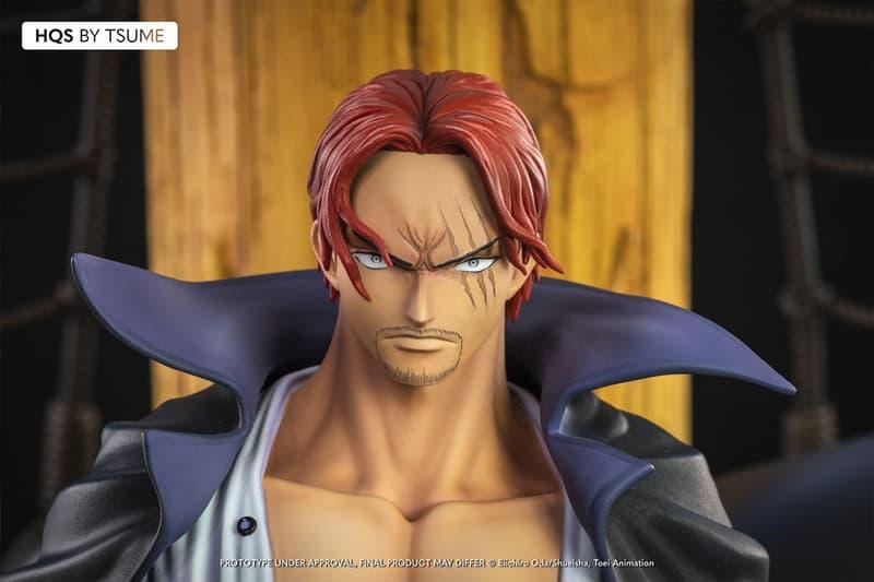Tsume-Art 打造紅髮香克斯「霸王色」發動場景雕像