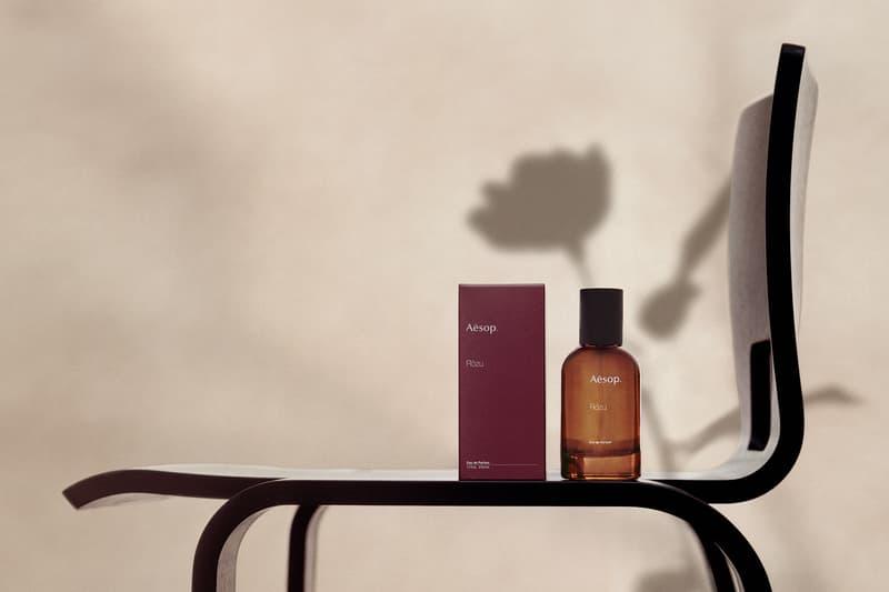 Aēsop全新第四款香氛馥香水 Rōzu 正式发布