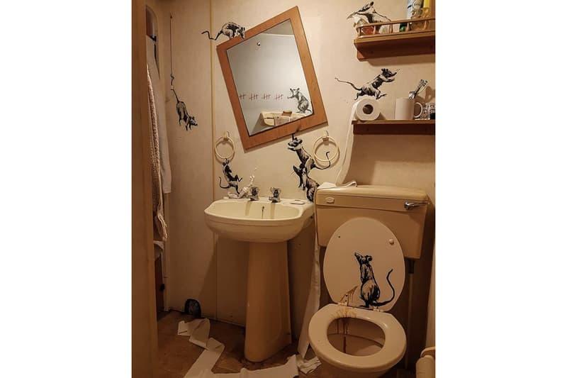 「我老婆討厭我待在家工作。」Banksy 分享疫情期間之居家創作