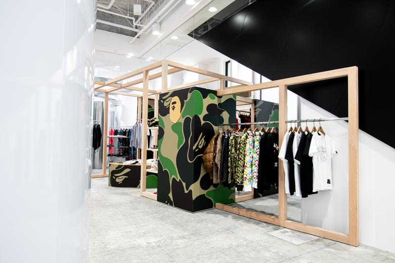 率先走進 BAPE STORE® COMME des GARÇONS Osaka 概念店