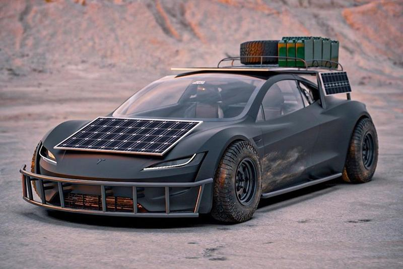 BradBuilds 打造《Mad Max》主題 Tesla 越野改裝車型