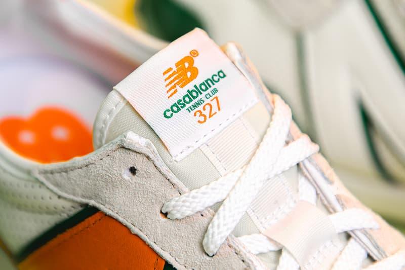 近賞 Casablanca x New Balance 327 聯名鞋款