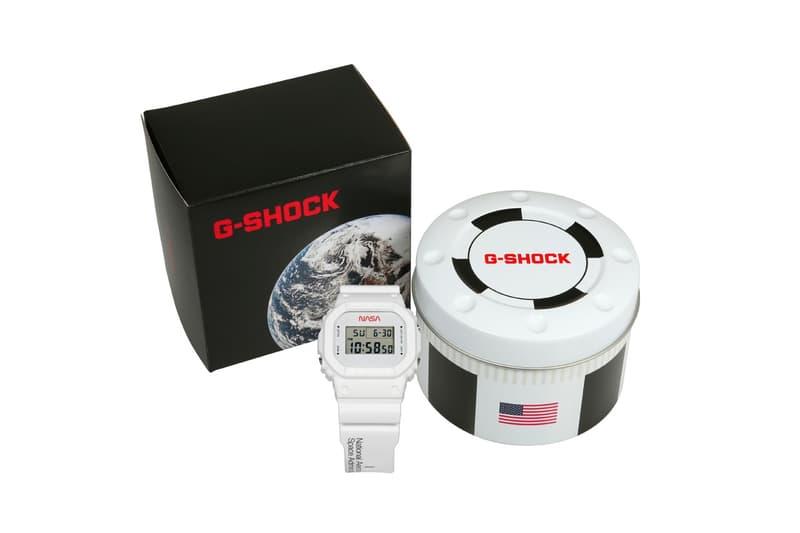 G-SHOCK 全新 NASA 主題 DW-5600 別注腕錶發佈