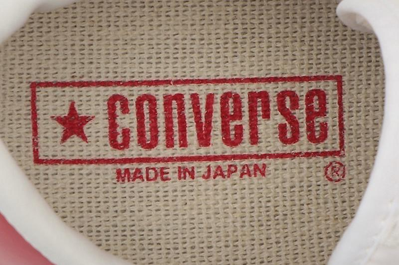 日本製 Converse One Star J 推出復古紅色皮革版本