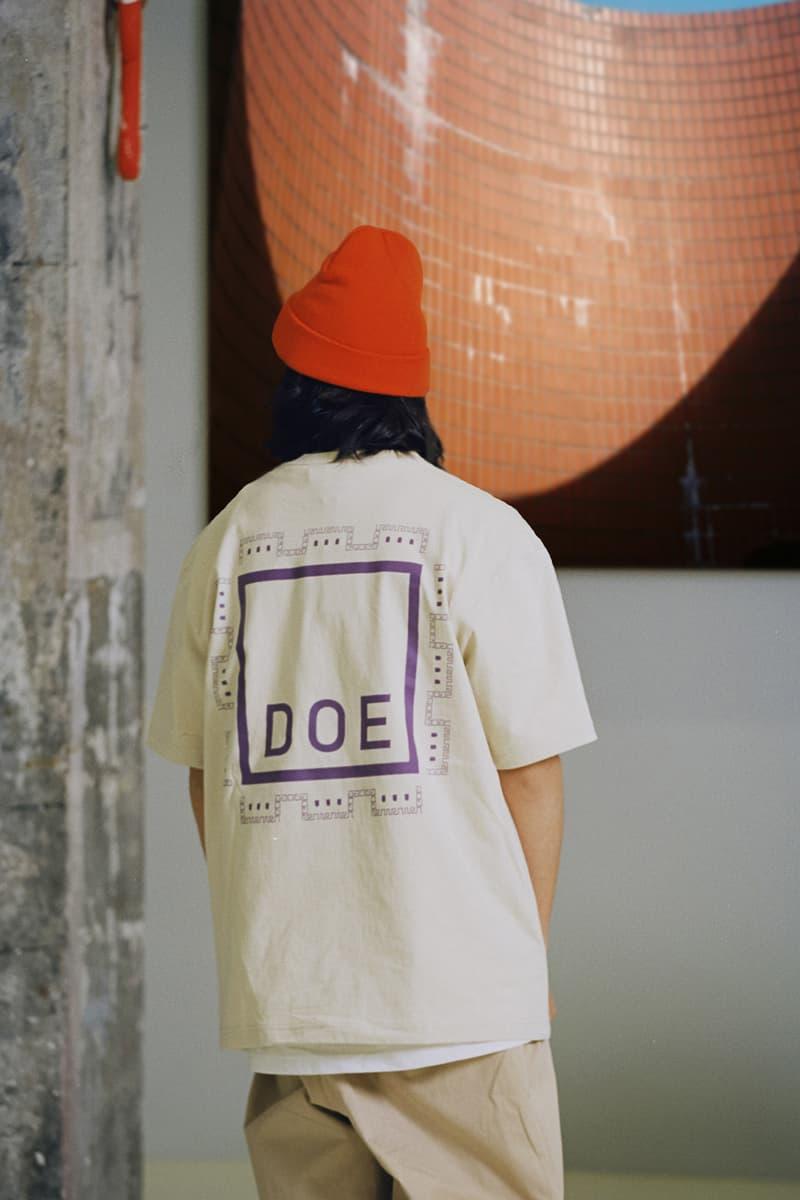 DOE 发布 2020 春夏系列 Lookbook