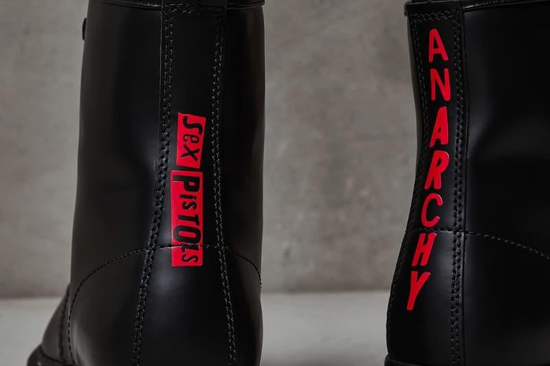 次文化代表再現 − Dr.Martens x Sex Pistols 攜手打造全新龐克別注系列