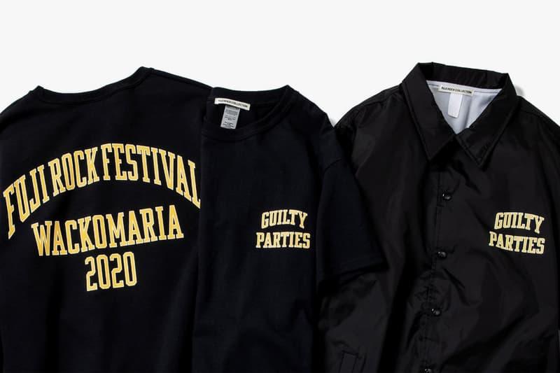 Fuji Rock Festival 攜手 WACKO MARIA 推出聯名限定系列