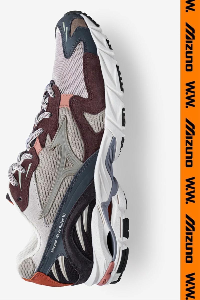 Mizuno x WoodWood 聯手推出「KAZOKU」第 25 回別注 Wave Rider 10 鞋款
