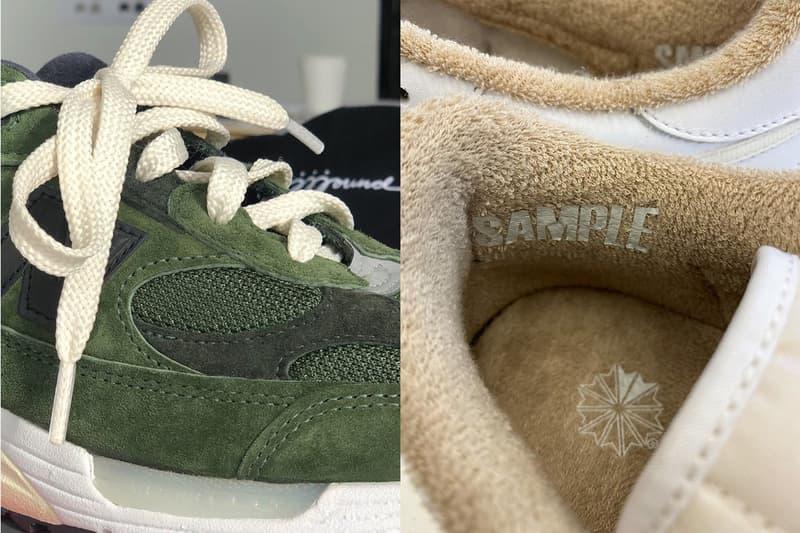 JJJJound 曝光全新 New Balance 以及 Reebok 聯乘鞋款系列