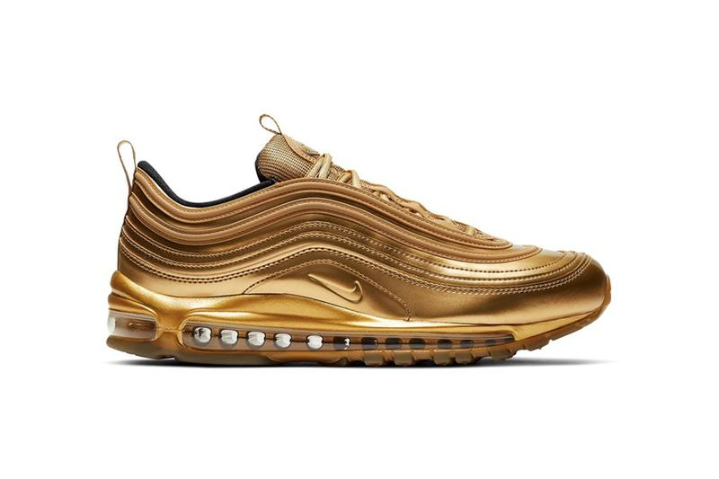 Nike Air Max 97 最新配色「Gold Medal」上架