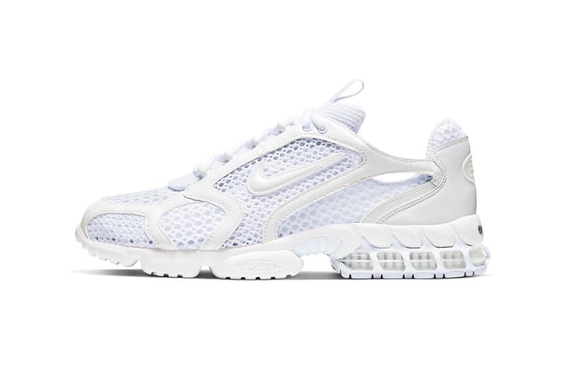 Nike Air Zoom Spiridon Cage 2 全白配色登場
