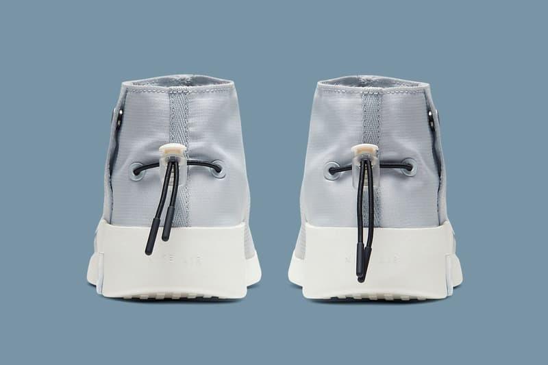 Nike Air Fear of God Moc「Pure Platinum」配色即將再度補貨發售
