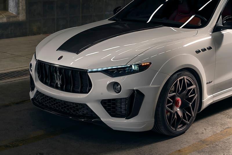 NOVITEC 打造全新寬體動力強化改裝 Maserati Levante