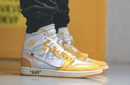 Off-White™ x Air Jordan 1 联名配色「Canary Yellow」高清上脚图辑率先曝光