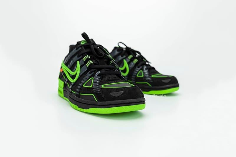 Off-White™ x Nike Air Rubber Dunk 最新聯名鞋款高清圖輯率先曝光