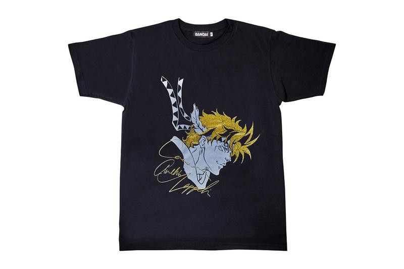 Bandai 推出人氣動漫作品《JoJo 的奇妙冒險》全新 T-Shirt 系列