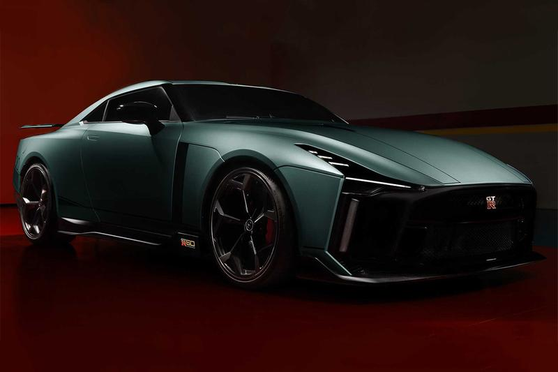 全球首部量產 Nissan GT-R50 By Italdesign 戰神正式發表