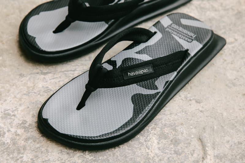率先近赏 Havaianas 联乘 mastermind JAPAN 拖鞋系列