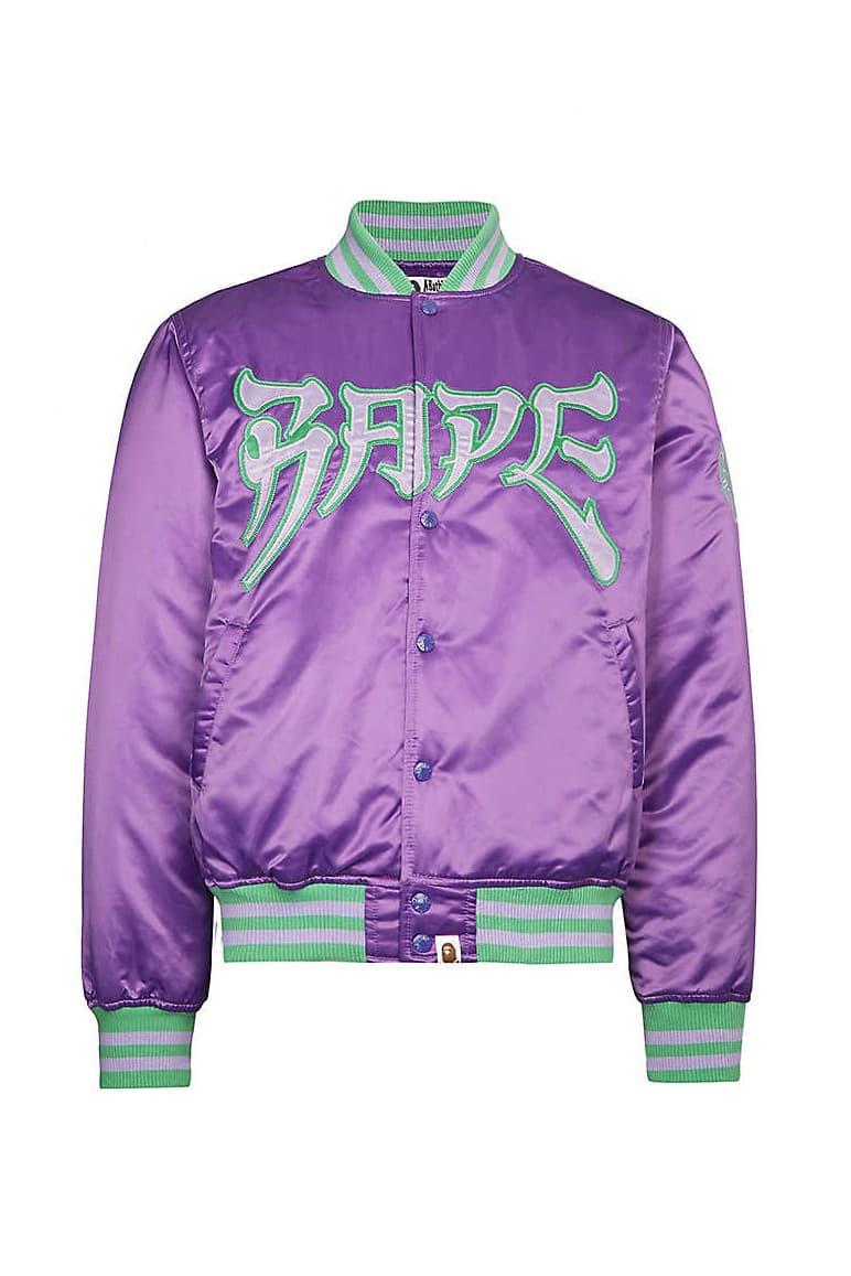 A BATHING APE® 推出全新「唐人街風格」緞面外套