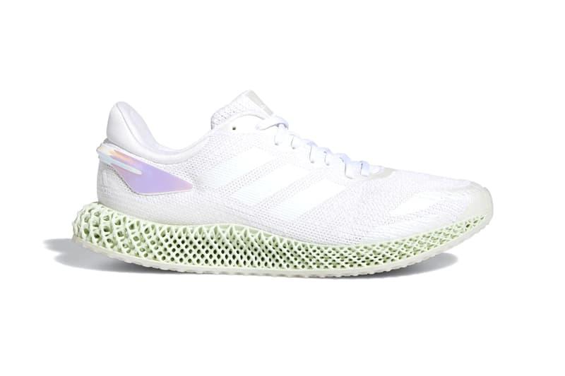 adidas 4D Run 1.0 最新「Triple White」配色亮相