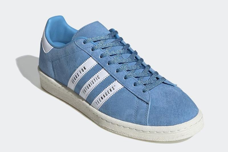 adidas Originals by HUMAN MADE 聯名 Campus 鞋款曝光