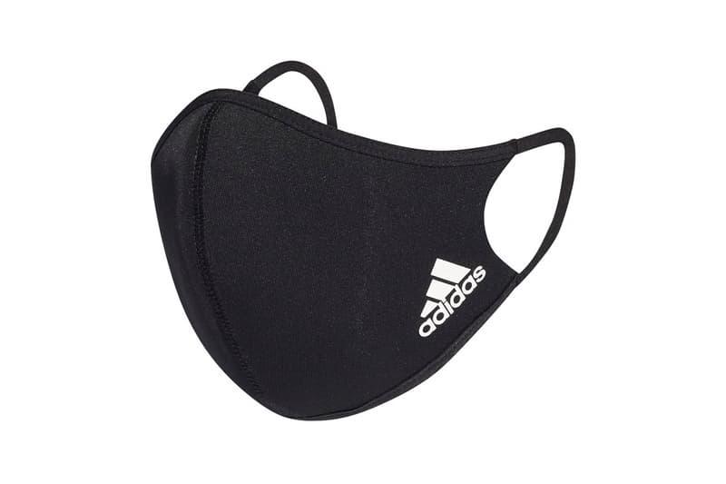 adidas 推出全新可重複使用水洗口罩