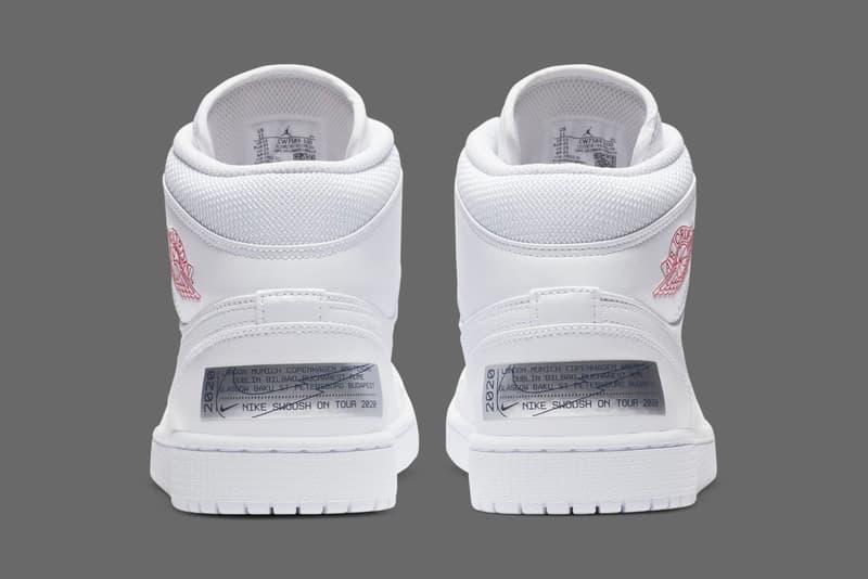 Jordan Brand 即將推出全新 Air Jordan 1 Mid「Euro Tour」鞋款